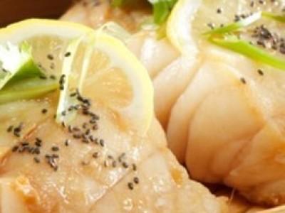 クックパッドのレシピを更新しました ★ チアシードを使った蒸し魚