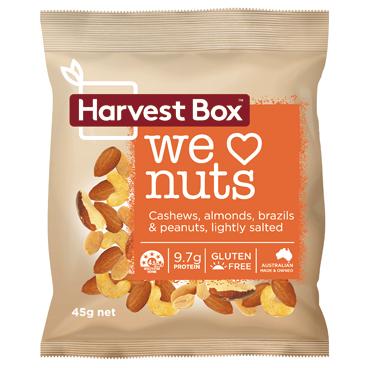 ハーベストボックス WE LOVE NUTS